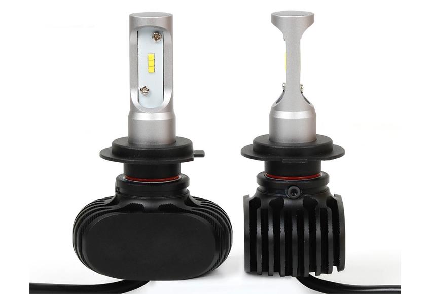 Đèn pha LED ô tô sử dụng chip LED SMD