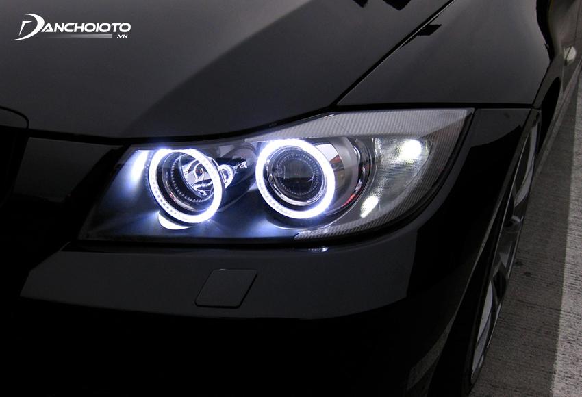 Đèn Xenon (đèn HID) cho ánh sáng cường độ cao