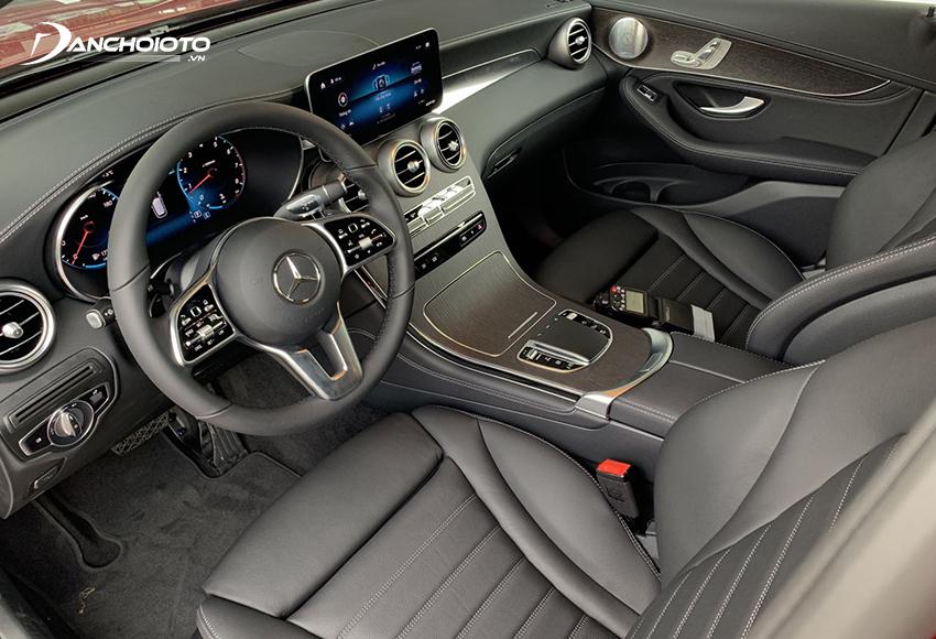 GLC 300 lắp ráp sang trọng với gói Exclusive, GLC 300 Coupe thể thao với gói AMG