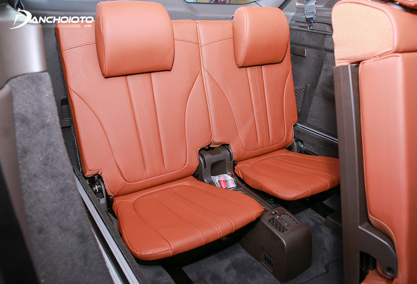 Hàng ghế thứ 3 Lux SA2.0 2020 chỉ đóng vai trò là ghế phụ