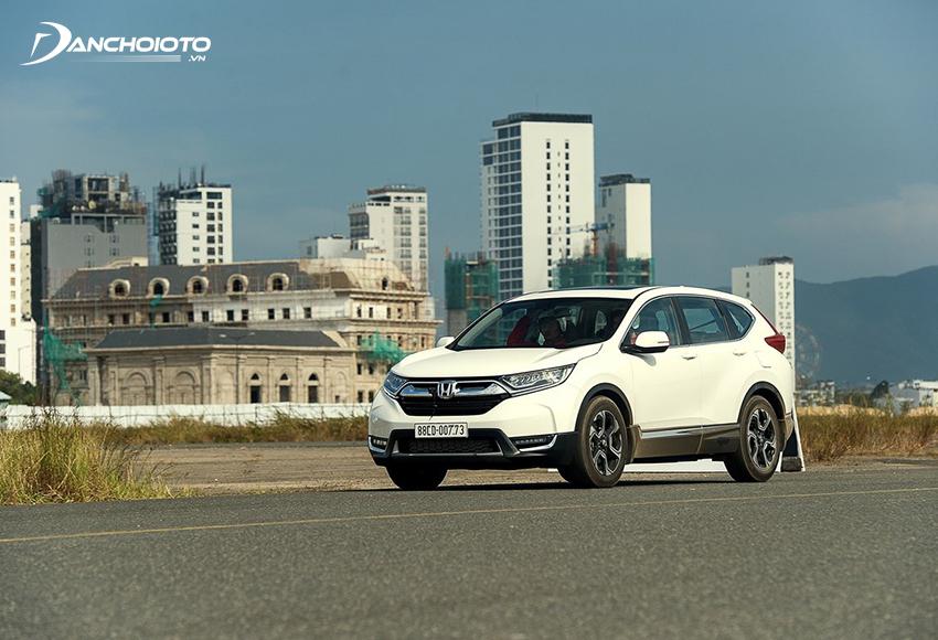 Honda CR-V được đánh giá có mức tiêu thụ xăng thuộc hàng tiết kiệm nhất trong dòng CUV gầm cao