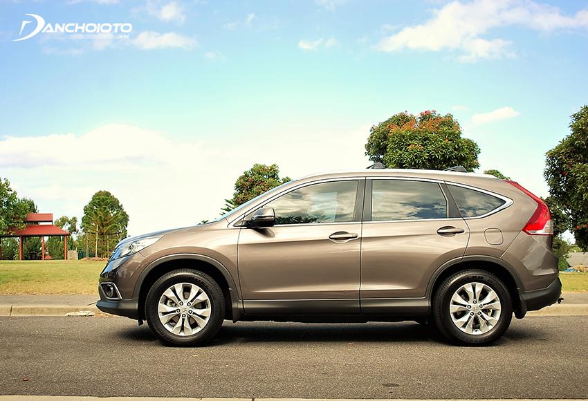 Khả năng cách âm các đời Honda CR-V cũ chưa tốt