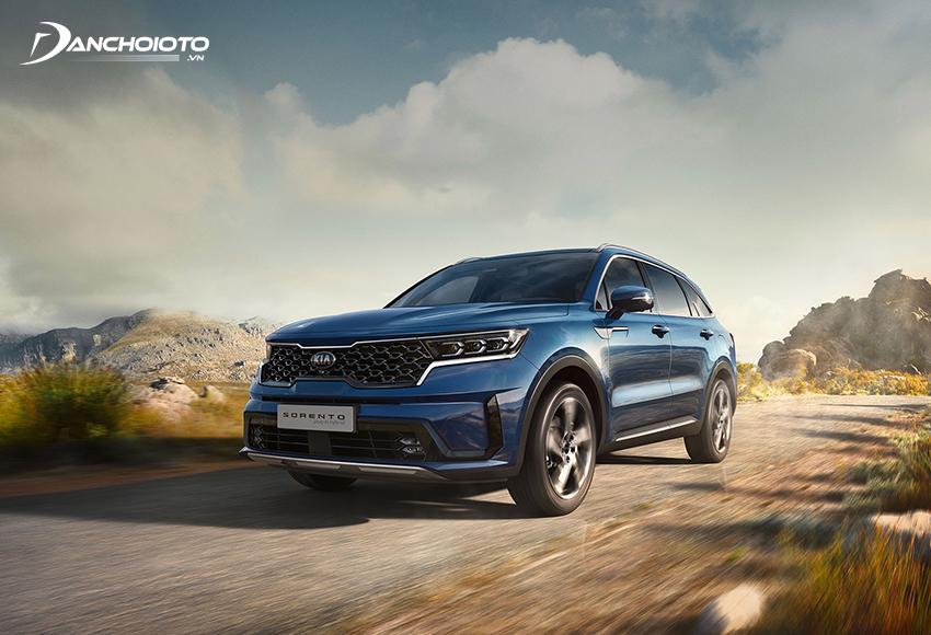 Kia Sorento 2020 – 2021 trang bị khung gầm thế hệ mới nhẹ hơn