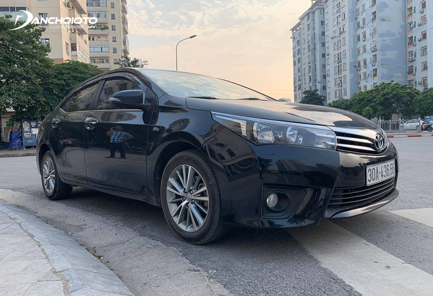 Lý tưởng nhất nên mua Toyota Corolla Altis cũ từ đời 2014 về sau