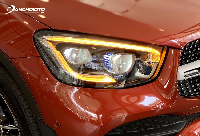 Mercedes GLC 300 4MATIC 2020 lắp ráp được trang bị đèn chiếu sáng Multi-Beam LED