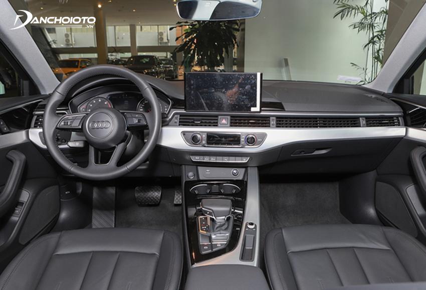 """Nội thất Audi A4 2020 không có sự thay đổi nhiều so với """"người tiền nhiệm"""""""