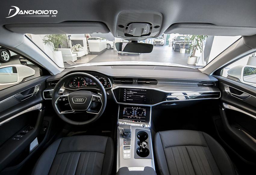 """Nội thất Audi A6 2020 thế hệ mới được """"lột xác"""" khác hoàn toàn"""