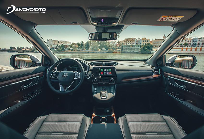Nội thất Honda CR-V 2018 cũ