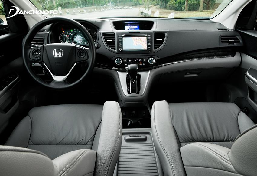 Nội thất Honda CRV 2013 cũ