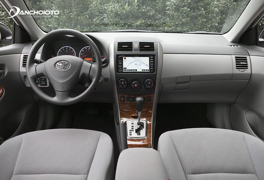 Nội thất Toyota Corolla Altis 2009 cũ
