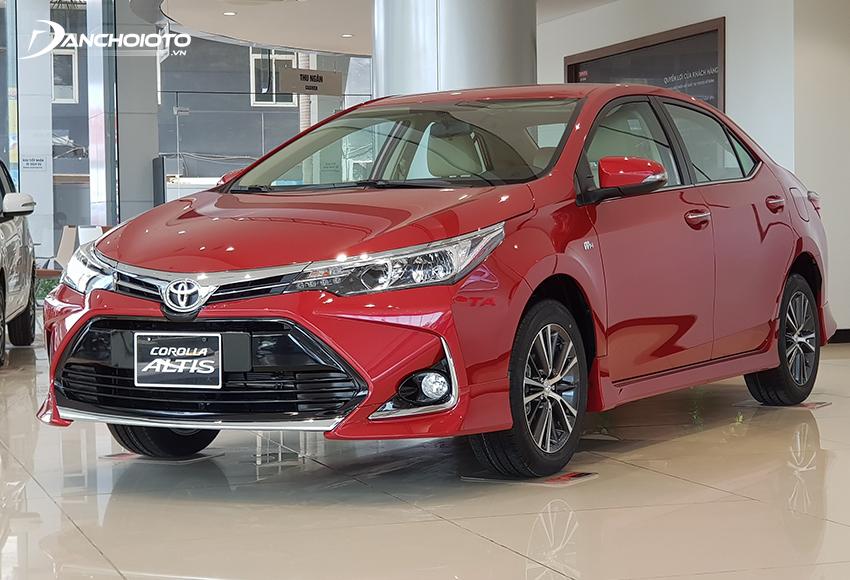 Toyota Corolla Altis 2021 chỉ là một phiên bản nâng cấp nhẹ