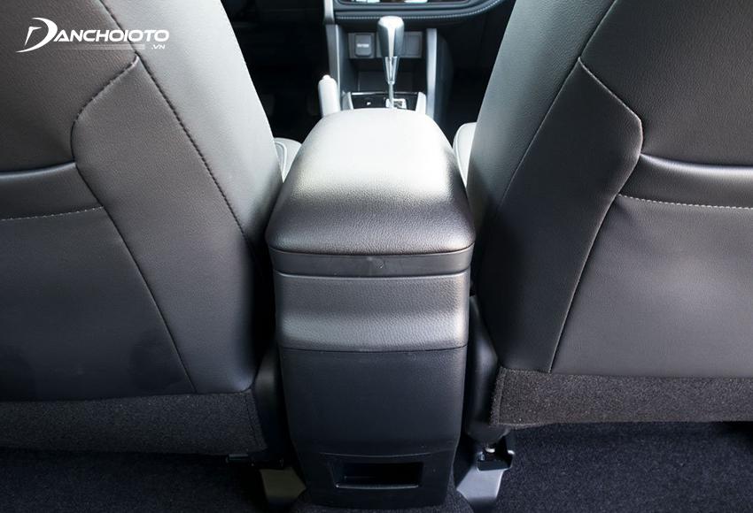 Toyota Corolla Altis 2021 không có cửa gió hàng ghế sau