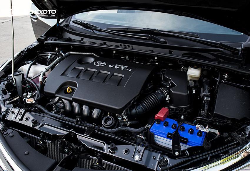 Toyota Corolla Altis 2021 vẫn sử dụng động cơ 1.8L 2ZR-FE