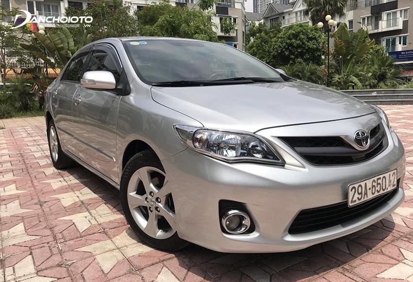 Toyota Corolla Altis cũ đời 2011 – 2012 đến nay vẫn còn ưa nhìn