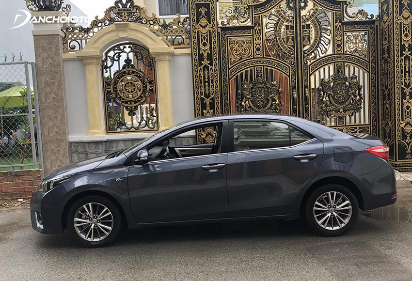 Toyota Corolla Altis cũ được đánh giá có độ bền cao, ít hỏng vặt