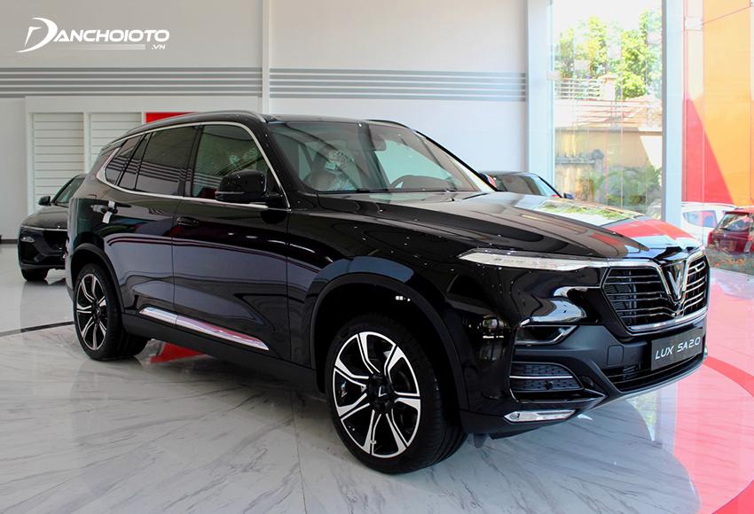 VinFast Lux SA2.0 2020 mang chất SUV bề thế lại vừa có nét lịch lãm, tinh tế