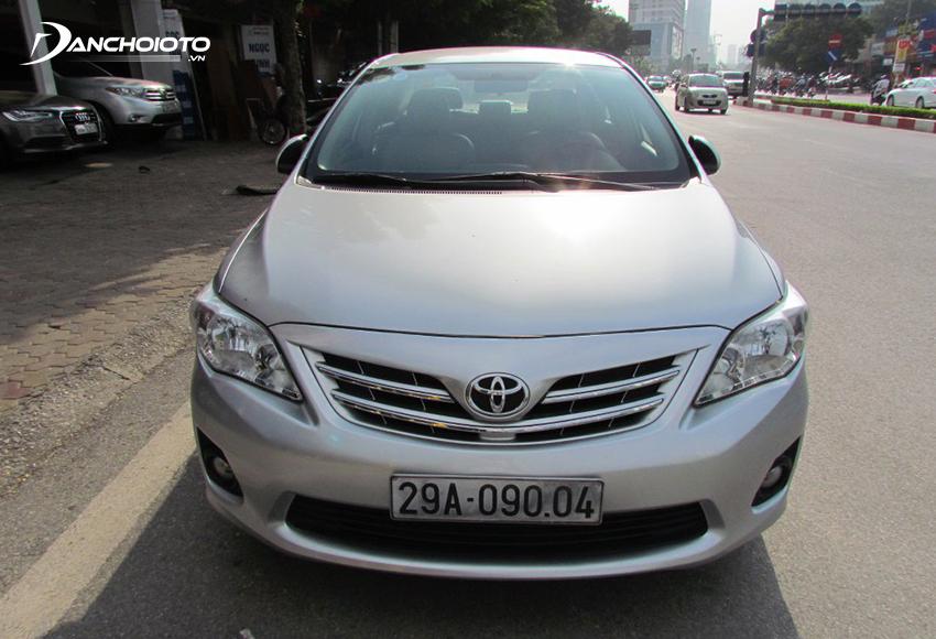 Xe Toyota Corolla Altis 2012 cũ
