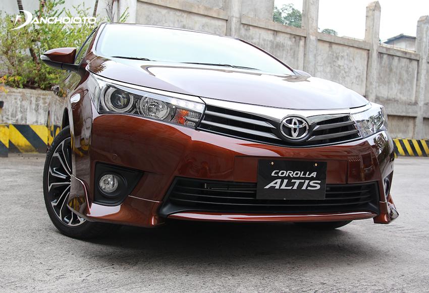Xe Toyota Corolla Altis 2014 cũ