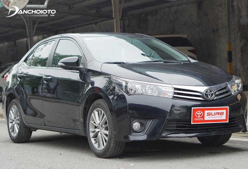 Xe Toyota Corolla Altis 2017 cũ