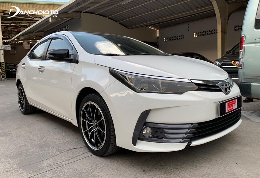 Xe Toyota Corolla Altis 2019 cũ