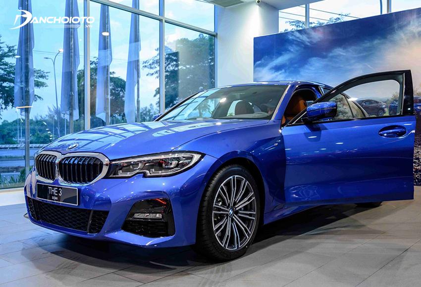 BMW 330i M Sport 2020 có một số nâng cấp nổi bật so với đời trước