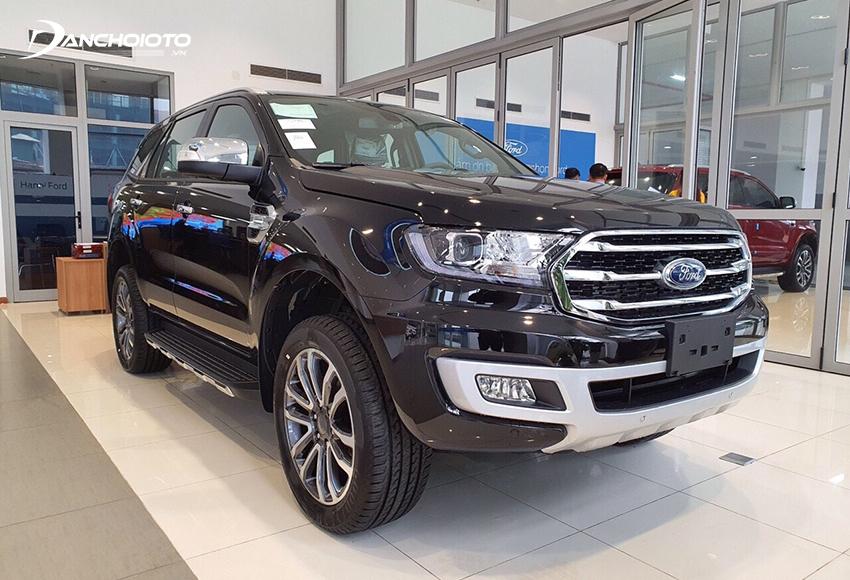 Ford Everest Titanium 4WD sở hữu khối động cơ Bi-Turbo mạnh mẽ hơn