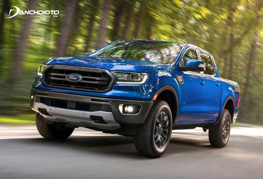 Ford Ranger sở hữu đến hơn 40% thị phần phân khúc bán tải Việt