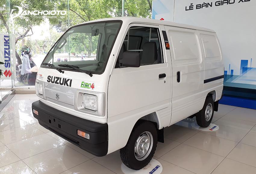Giá Suzuki Blind Van 293 triệu đồng