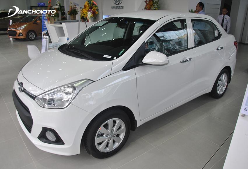 Giá xe Hyundai i10 thấp hơn dù cùng sử dụng động cơ 1.2L như Attrage
