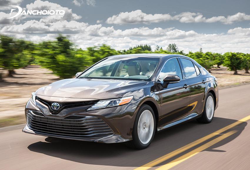 Giá xe Toyota Camry từ 1.029 - 1.235 triệu đồng