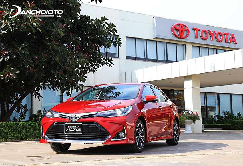 Giá xe Toyota Corolla Altis từ 733 - 763 triệu đồng