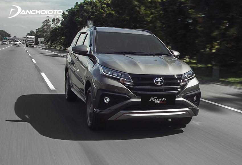 Giá xe Toyota Rush 633 triệu đồng