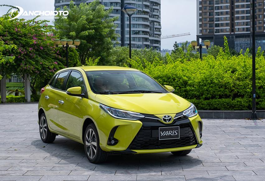 Giá xe Toyota Yaris từ 650 triệu đồng