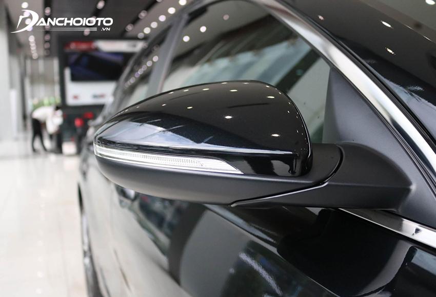 Gương chiếu hậu Cerato 2020 trang bị đầy đủ tính năng cần thiết