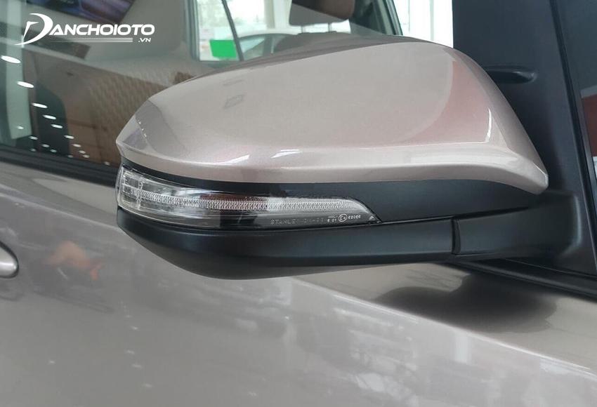 Gương chiếu hậu Toyota Innova 2020 đều tích hợp đầy đủ các tính năng