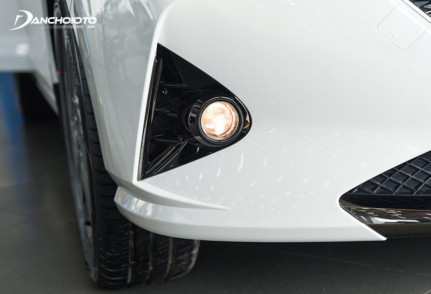 Hyundai Accent 2021 cũng dùng đèn sương mù Bi-Halogen