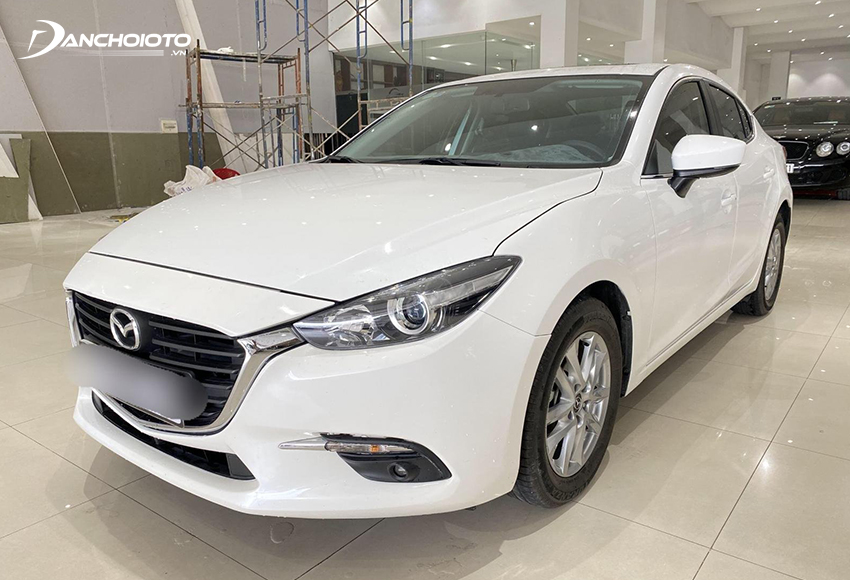 Mazda 3 cũ có thiết kế thời trang và hiện đại nhất phân khúc