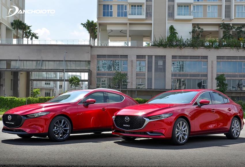 Mazda 3 sedan thì sang trọng còn Mazda 3 hatchback thì lịch lãm, thể thao