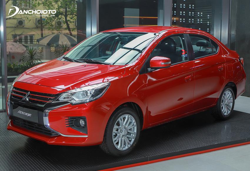 Mitsubishi Attrage 2020 mới có nhiều nâng cấp đáng kể