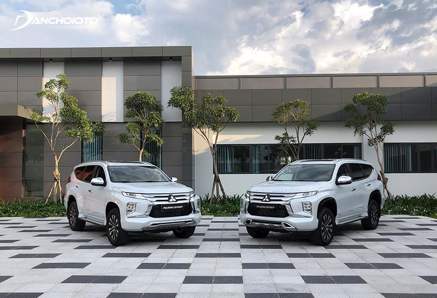 Mitsubishi Pajero Sport 2020 rút gọn chỉ có 2 phiên bản máy dầu 2x4 và 4x4