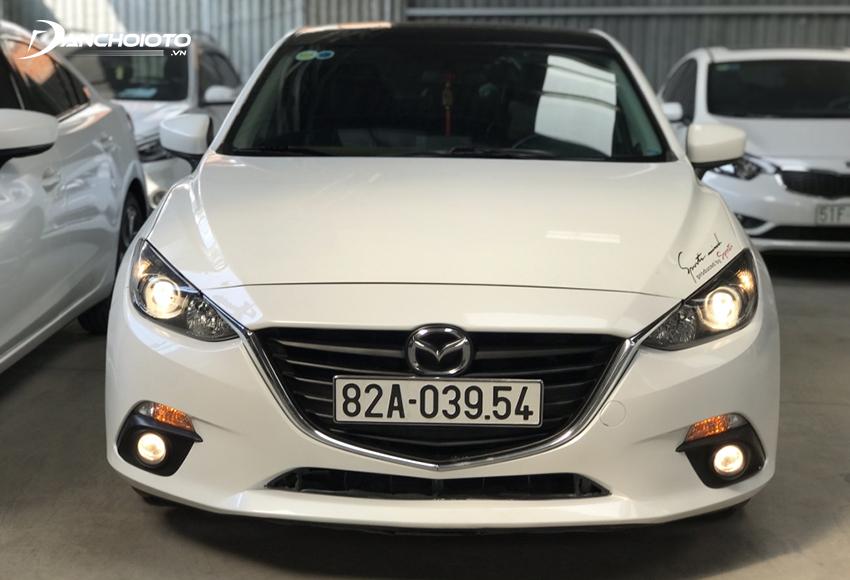 Người mua Mazda 3 cũ cần kiểm tra kỹ để đánh giá chính xác tình trạng xe