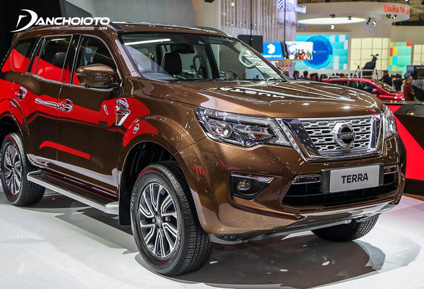 Nissan Terra 2020 nổi bật về hệ thống khung gầm và hệ thống lái