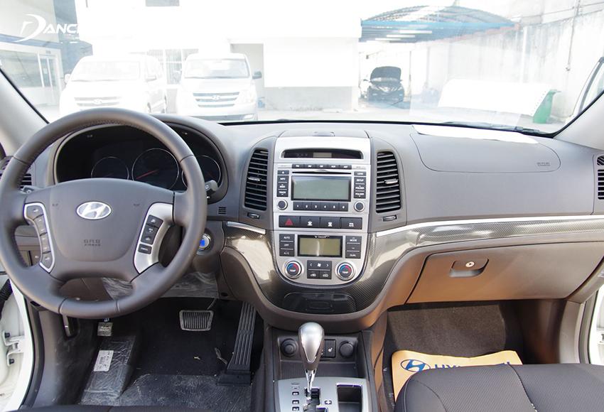 Nội thất Hyundai SantaFe 2010 cũ