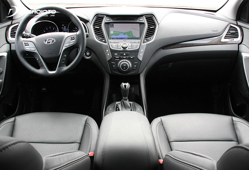 Nội thất Hyundai SantaFe 2013 cũ