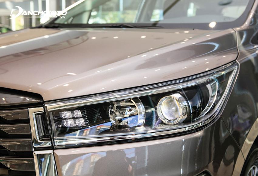 Ở đời 2020, Toyota Innova Venturer và 2.0G cũng được trang bị LED như 2.0V