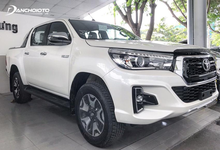 Toyota Hilux 2019 cũ có thiết kế bền dáng