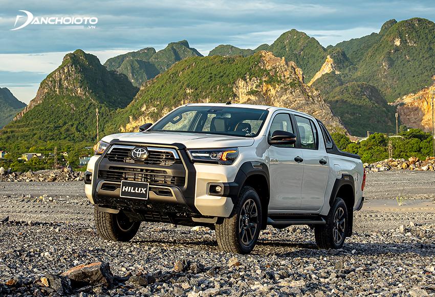Toyota Hilux 2021 được trang bị gói công nghệ an toàn Toyota Safety Sense