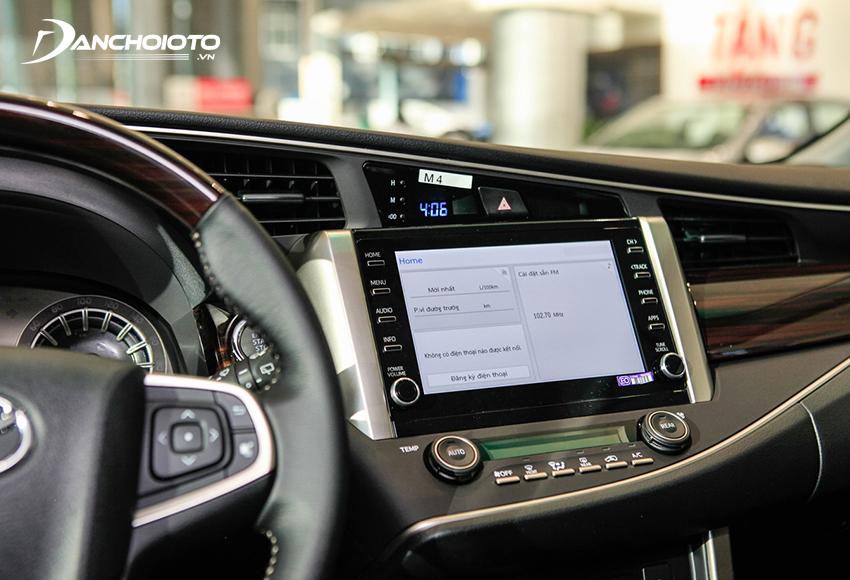 Toyota Innova 2020 được nâng cấp trang bị màn hình cảm ứng 8 inch