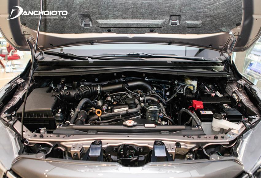Toyota Innova 2020 vẫn dùng động cơ 2.0L quen thuộc