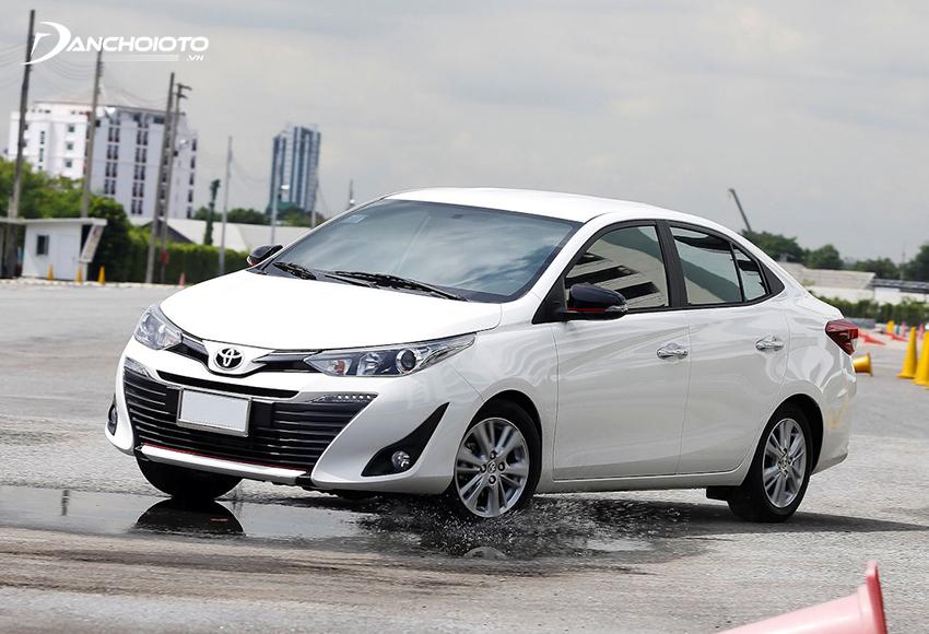Trong thời gian, Toyota Vios là mẫu xe bán chạy nhất phân khúc hạng B nói riêng và tất cả các phân khúc xe phổ thông nói chung